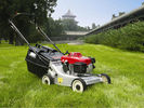 China Grass Trimmer Garden Cutting Machine , 6.5HP 173CC Self Propelled Gas Lawn Mower company