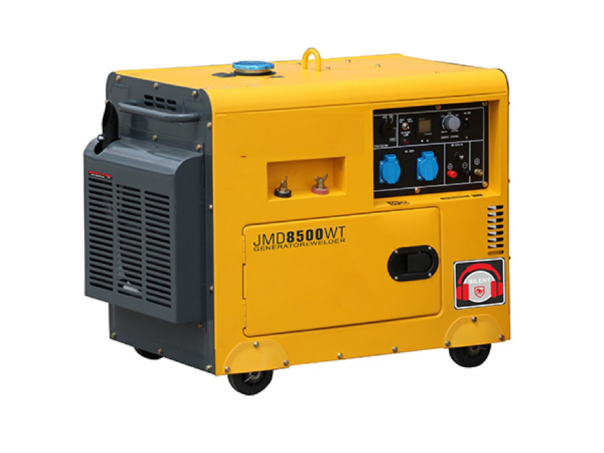 Electric Power General Diesel Generator Quiet 5000 W 50 60 HZ