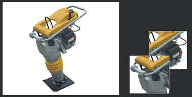 Hand Held Jumping Jack Compactor Construction Machinery 640-680 Impact Number Per Min.
