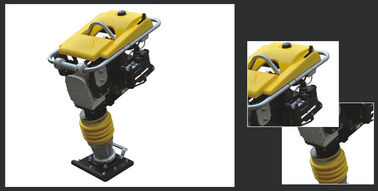 Portable Light Construction Machinery , Gas Powered Vertical Rammer Compactor