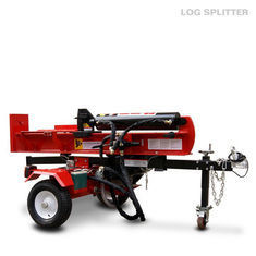 Tractor Automatic Wood Splitting Machine EPA 50 Ton 12 Seconds Cycle Time