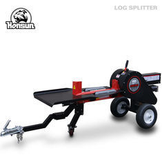 Hydraulic Two Way Log Splitter Gasoline Powered 22 Ton Forestry Machinery