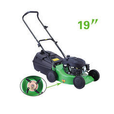 "19"" Garden Cutting Machine 4HP Hand Push Steel Lawn Mower CE Approved"