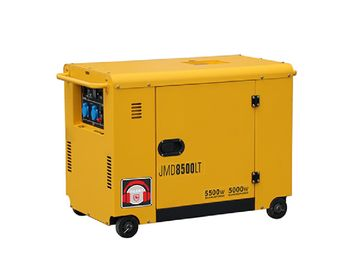 Quiet 5kw Diesel Generator Yellow Housing 720x492x655mm CE Approved