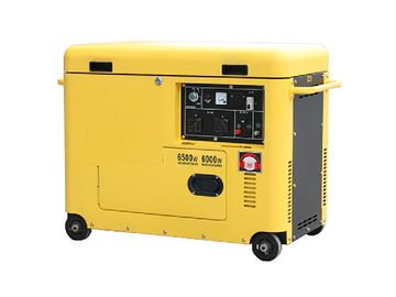 Supper Silent Small Portable Diesel Generator Set 220v 5kw For Residential
