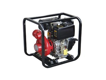4 Stroke Diesel Water Pump , TW170 WP20H 5. 5HP High 2 Inch Water Pump
