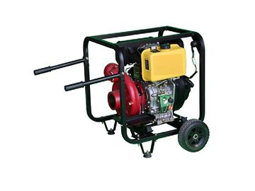 TW178 WP30H Diesel Water Pump 6. 5 Horsepower 3 Inch 4 Stroke Air Cooled