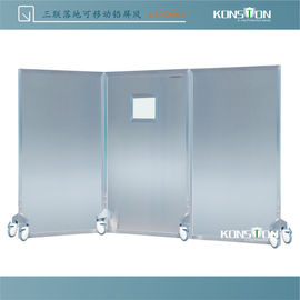 Movable Lead Barrier Against Radiation Screen KSDS001C 3 Pieces With Window